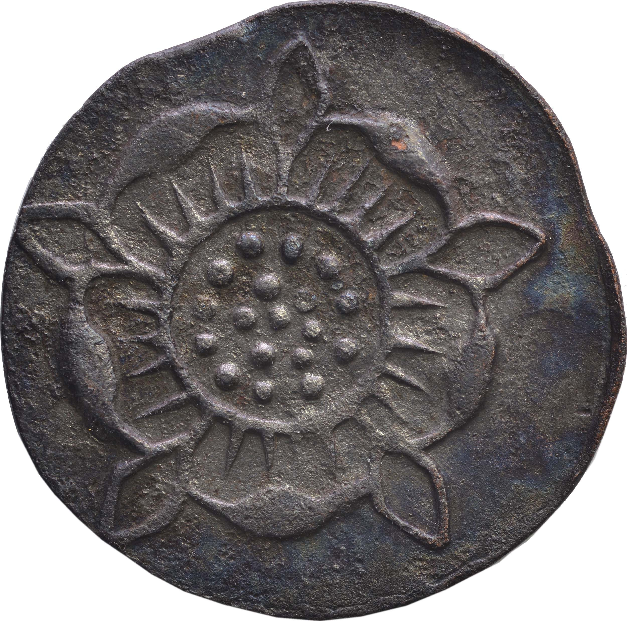Rückseite:Deutschland : 1 Pfennig Zainende  1840 ss.