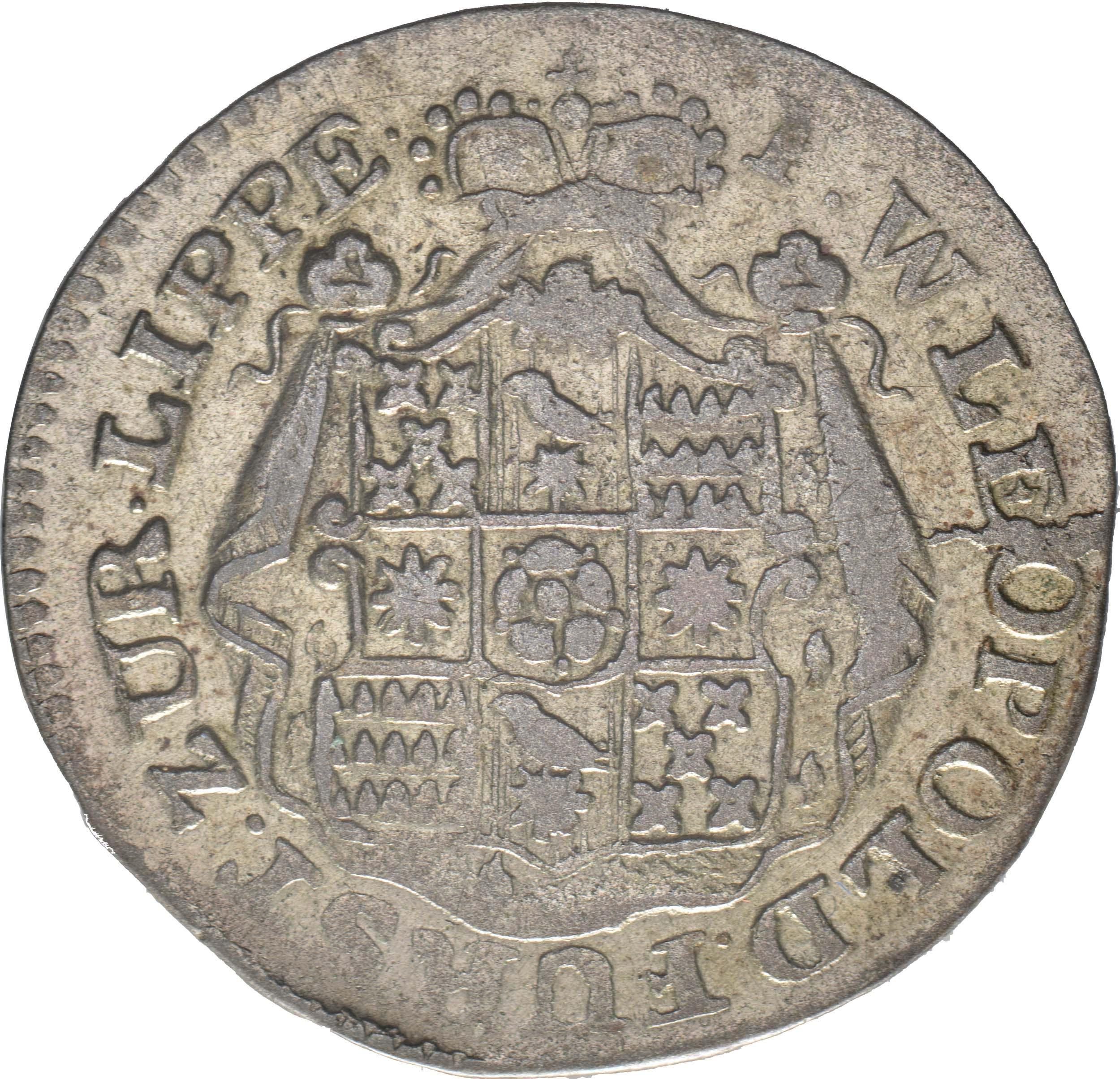 Rückseite:Deutschland : 1/12 Taler Wilhelm Leopold  1790 ss.