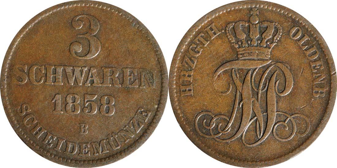 Übersicht:Deutschland : 3 Schwaren   1858 ss.