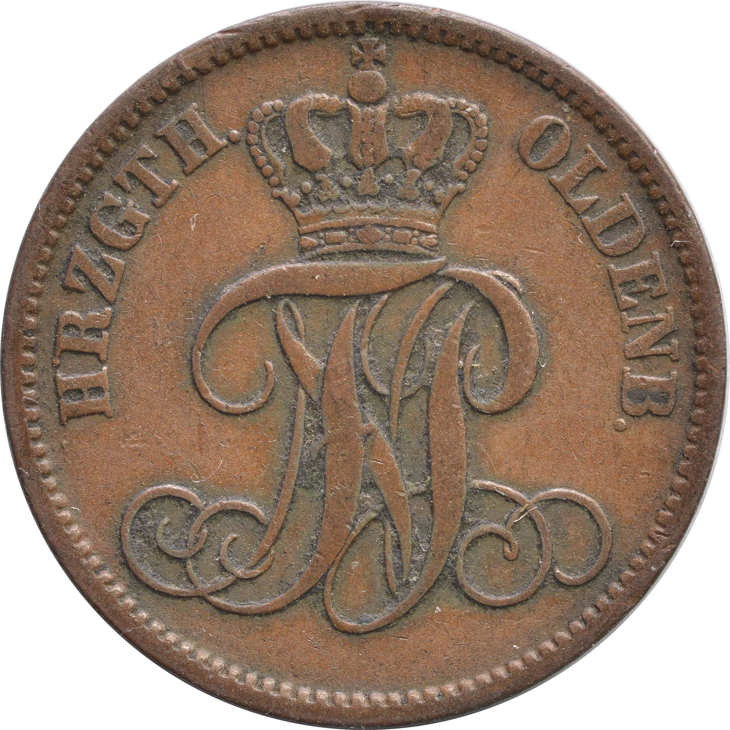 Rückseite:Deutschland : 3 Schwaren   1859 ss.