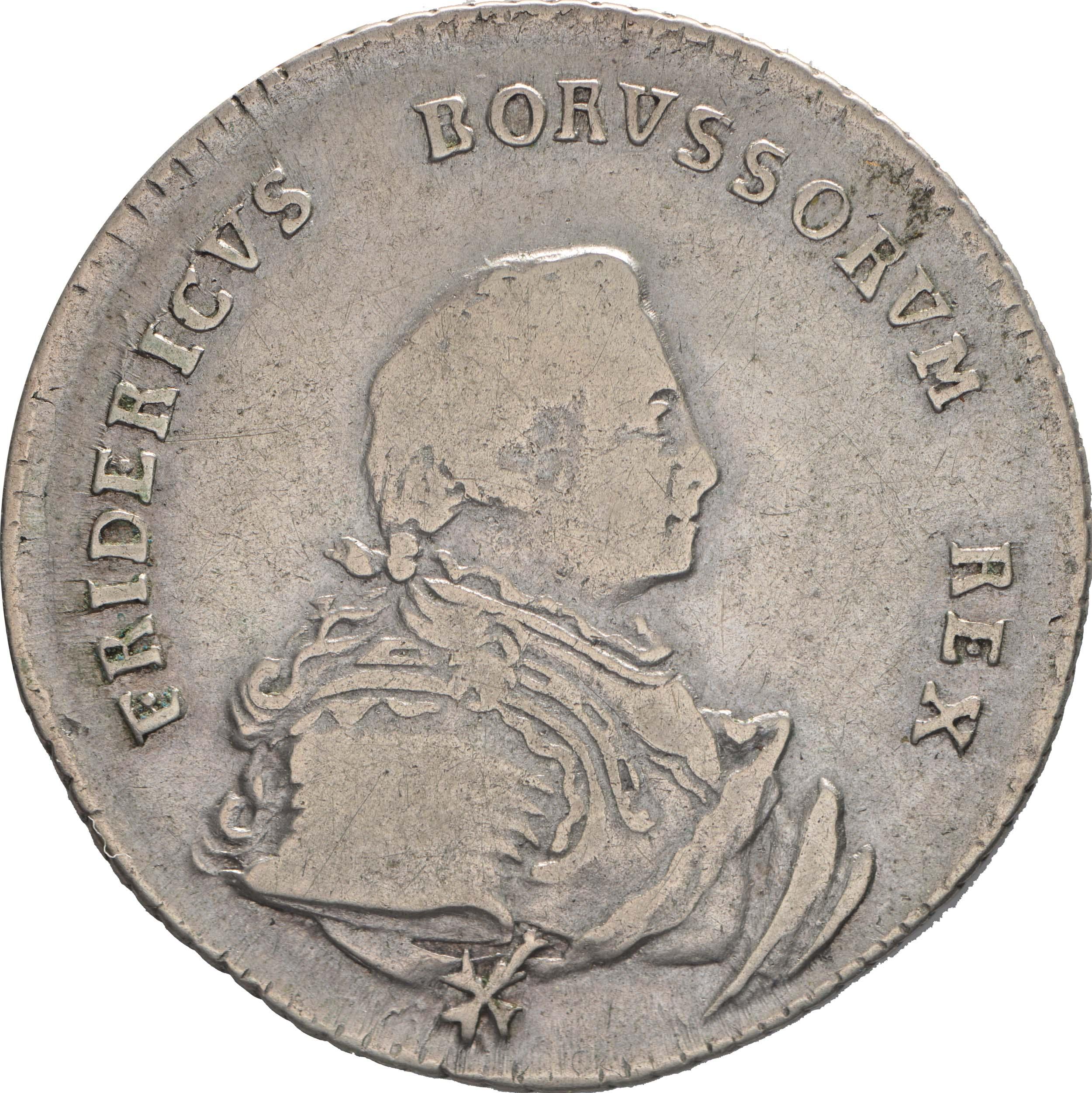 Bild der Vorderseite :Deutschland - 1/4 Taler   1750 ss.