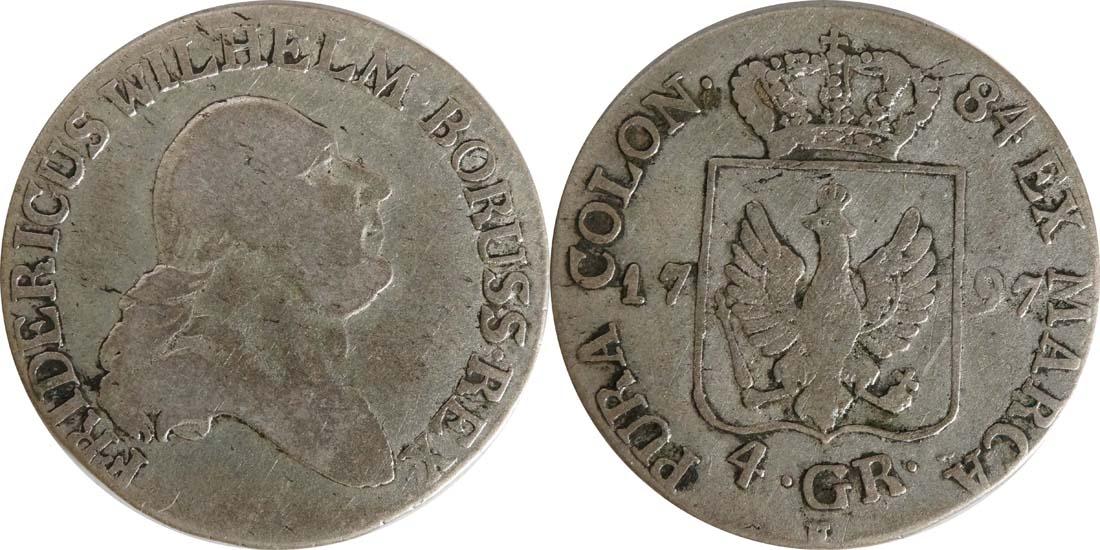Lieferumfang:Deutschland : 4 Groschen   1797 s/ss.