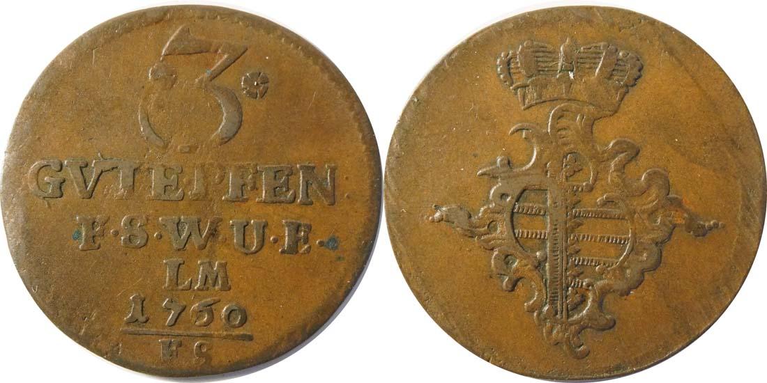 Deutschland : 3 Pfennig   1760 ss.