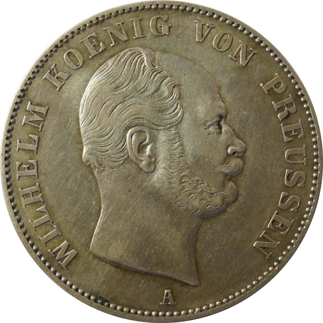 Vorderseite:Deutschland : 1 Vereinstaler   1861 ss/vz.