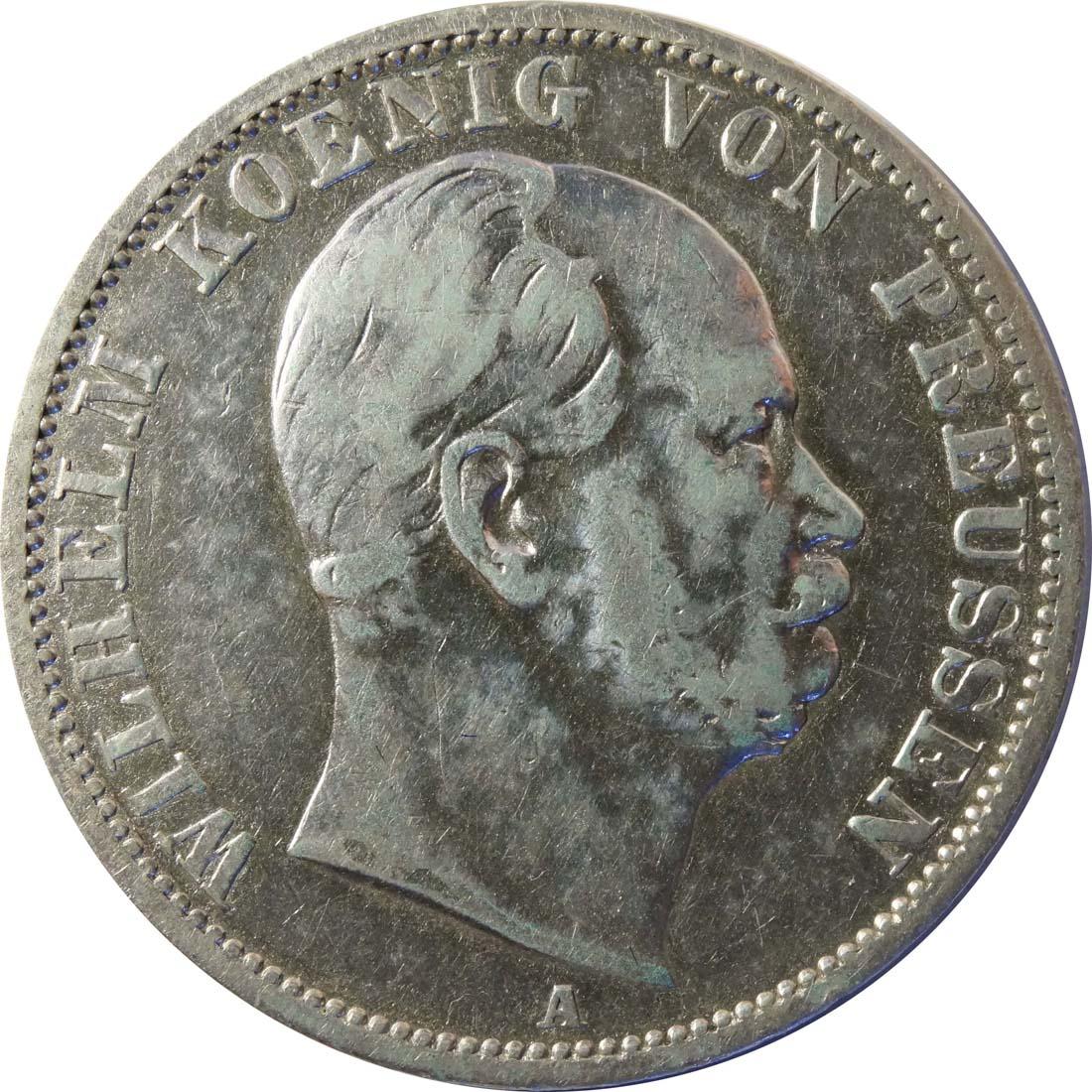 Vorderseite:Deutschland : 1 Vereinstaler   1869 s/ss.