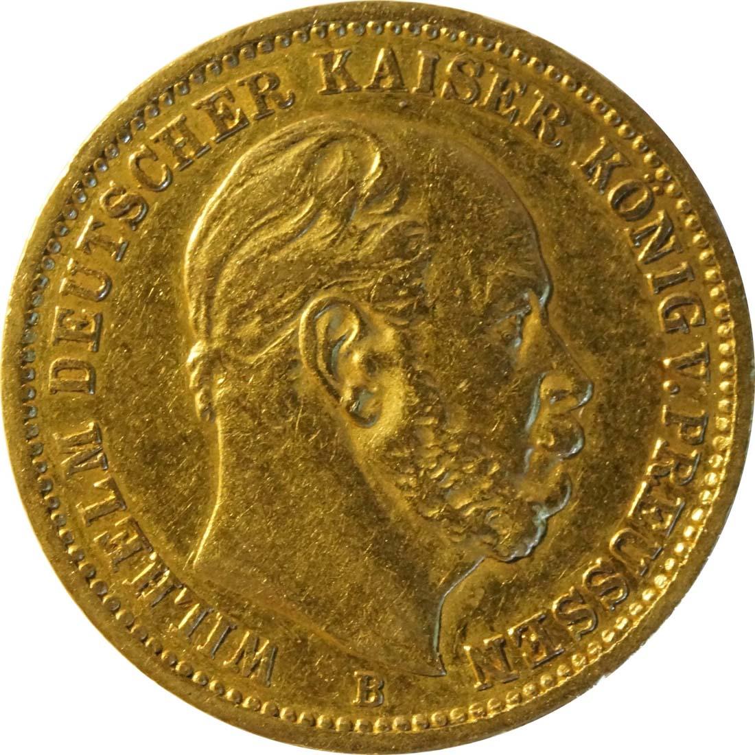 Vorderseite :Deutschland : 20 Mark   1872 ss.