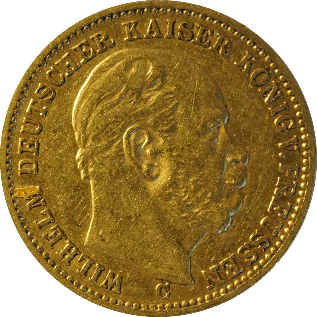 Vorderseite:Deutschland : 20 Mark   1872 ss.