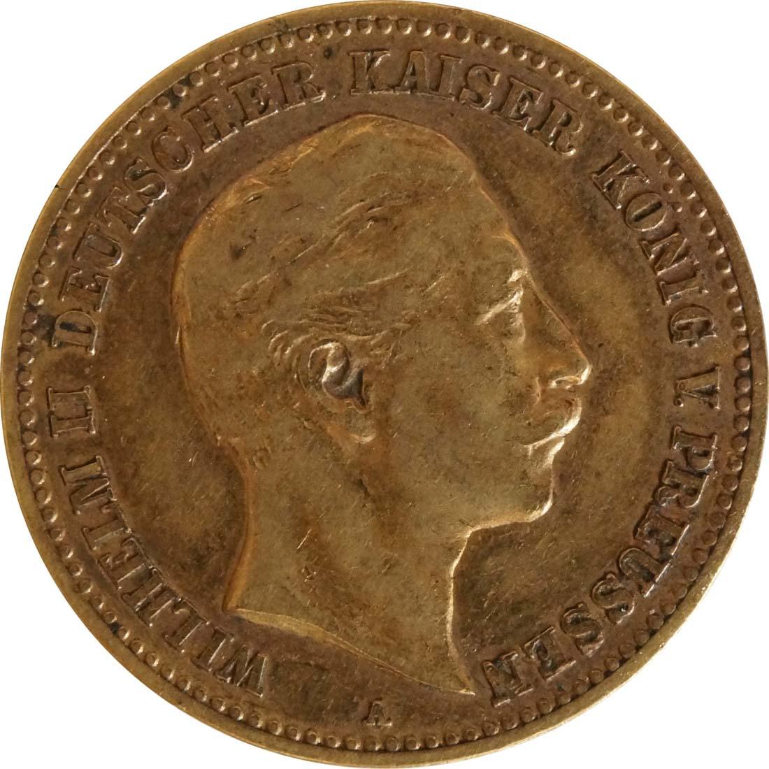 Vorderseite:Deutschland : 10 Mark   1890 ss.