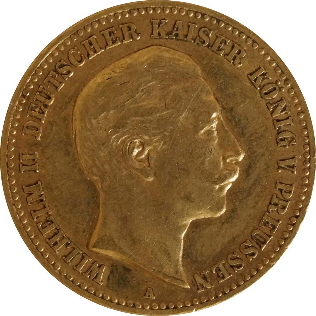 Bild der Vorderseite :Deutschland - 10 Mark   1898 ss.