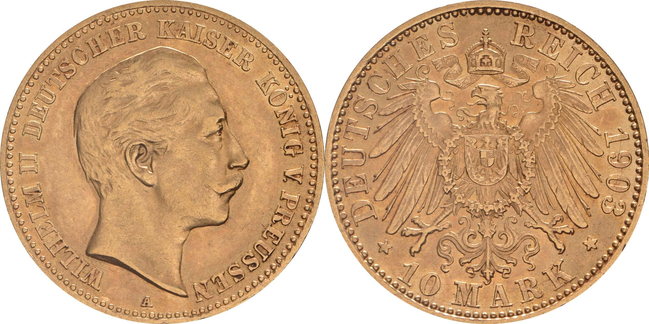 Deutschland : 10 Mark   1903 vz.