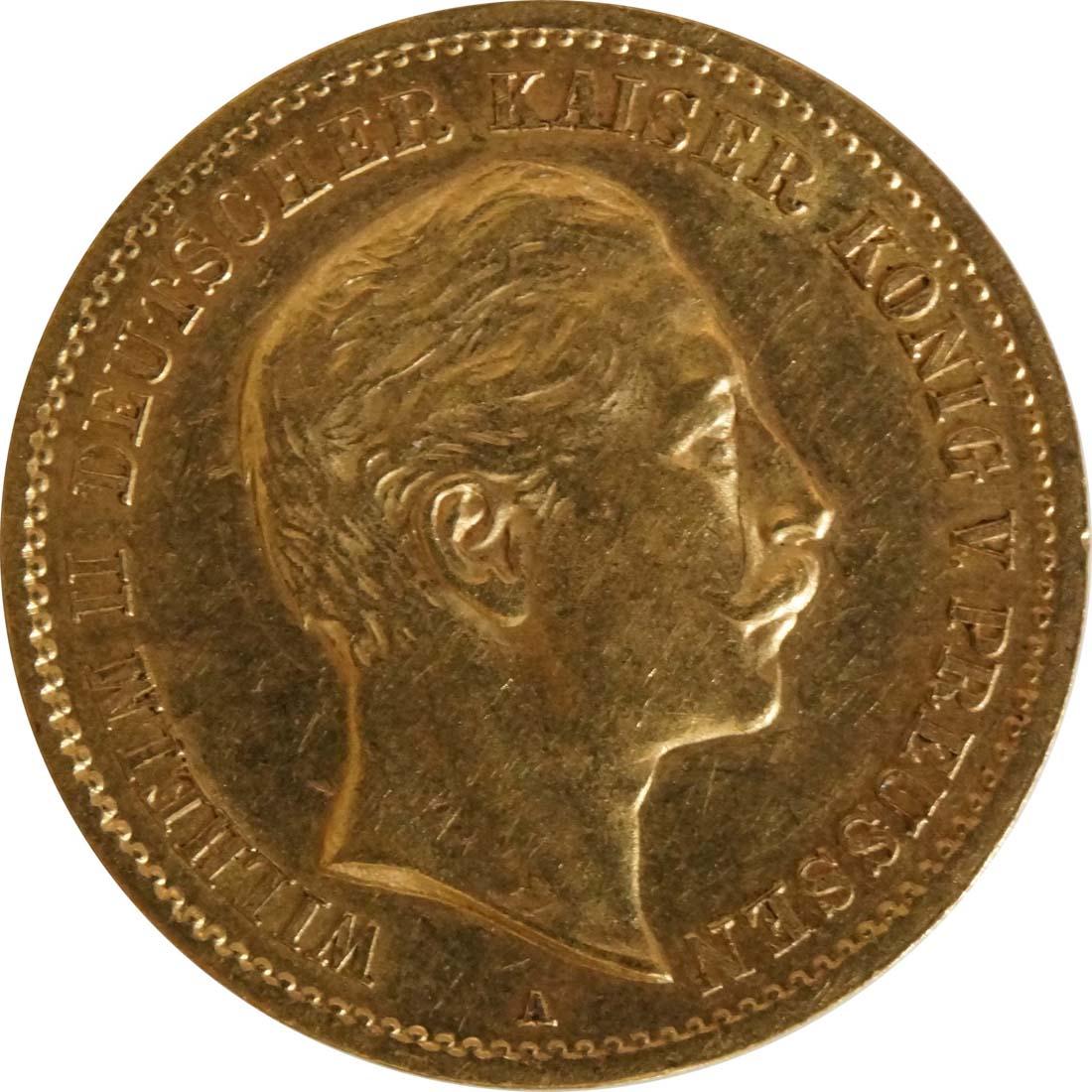 Vorderseite:Deutschland : 10 Mark   1907 vz.