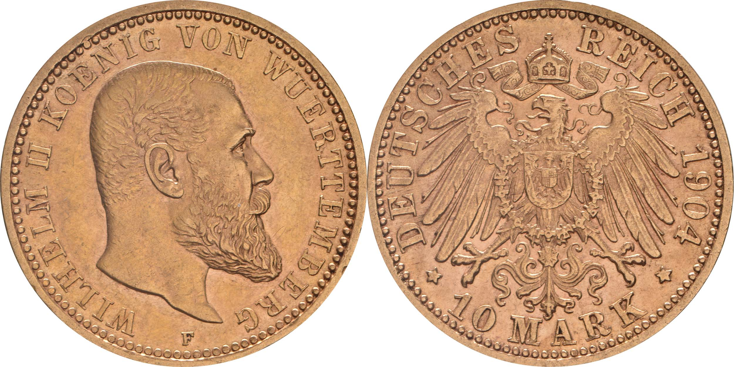 Lieferumfang:Deutschland : 10 Mark  winz. Kratzer 1904 vz.