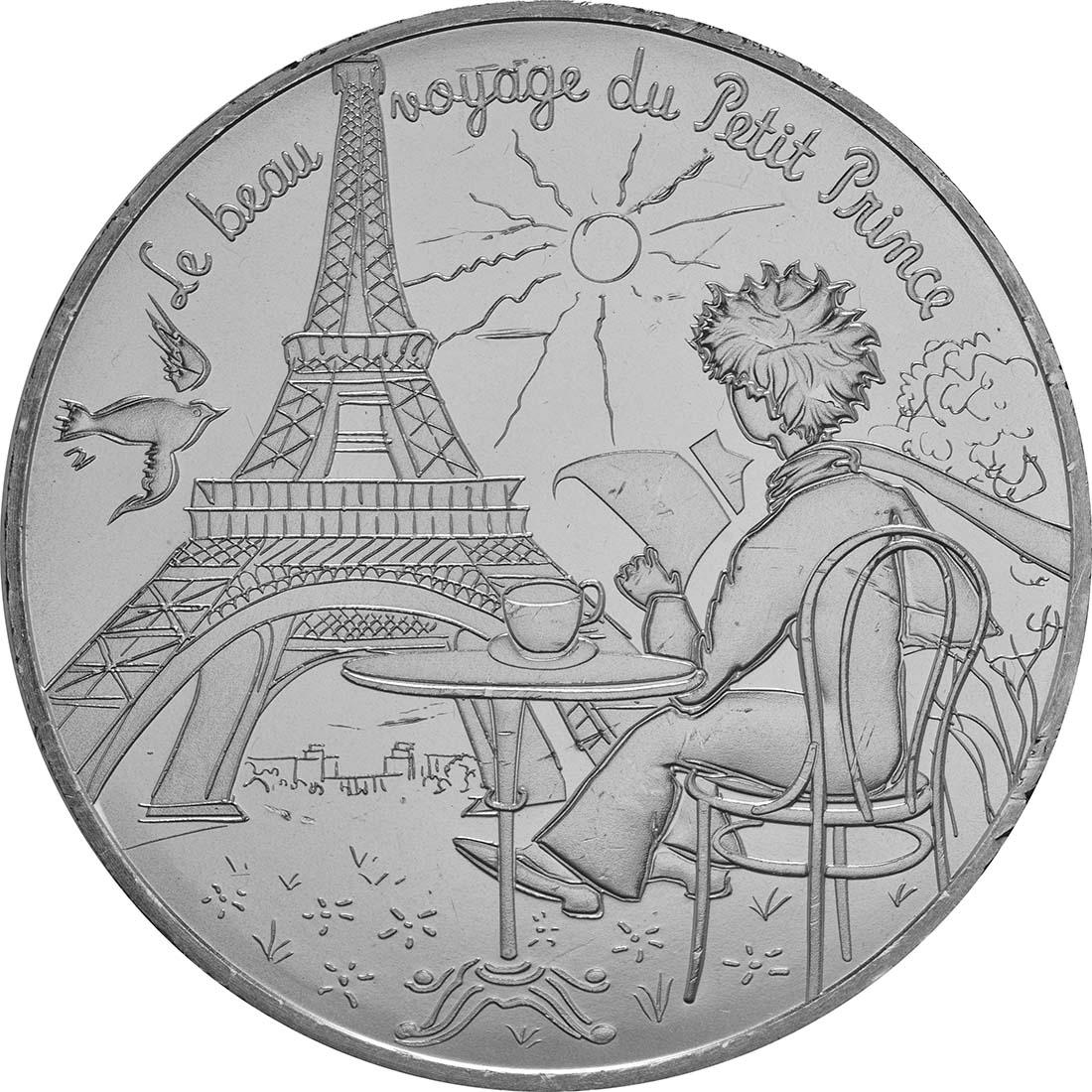 Vorderseite:Frankreich : 10 Euro 17/24 Der kleine Prinz in Paris  2016 bfr