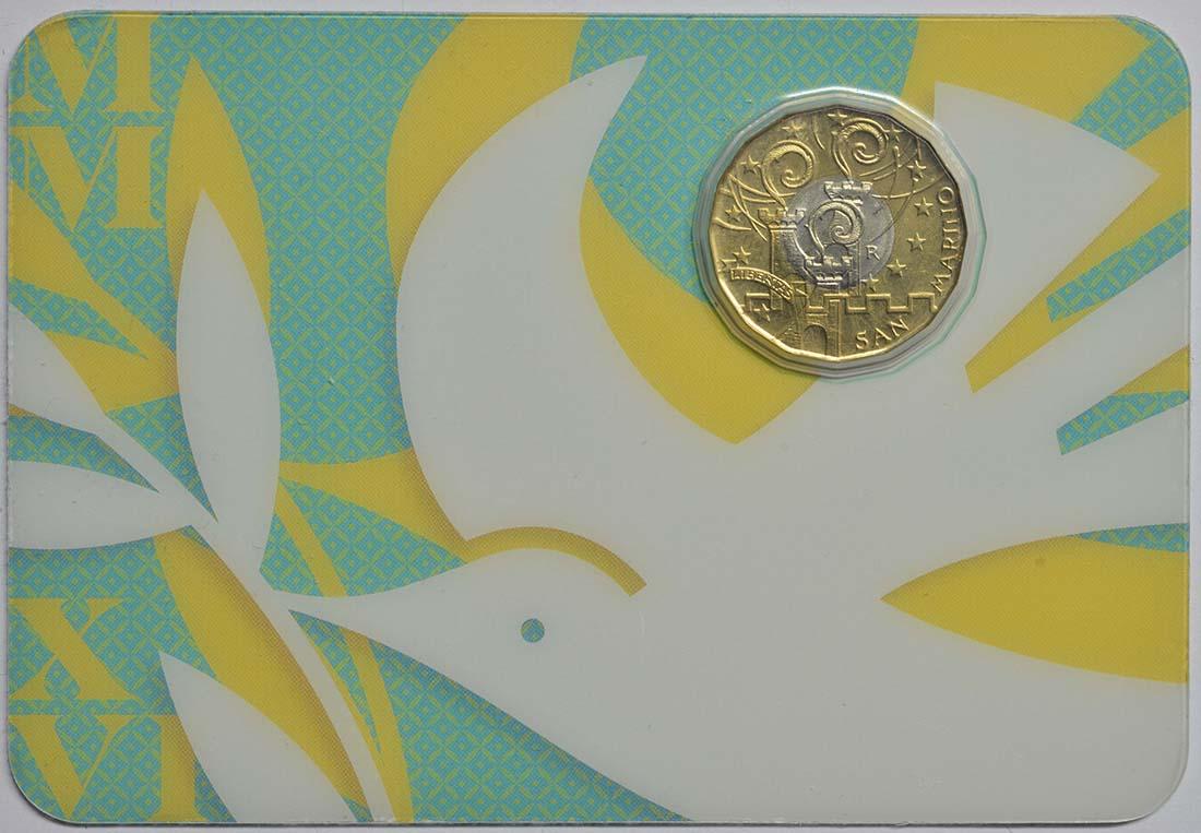 Lieferumfang:San Marino : 5 Euro Jubiläum der Barmherzigkeit  2016 bfr