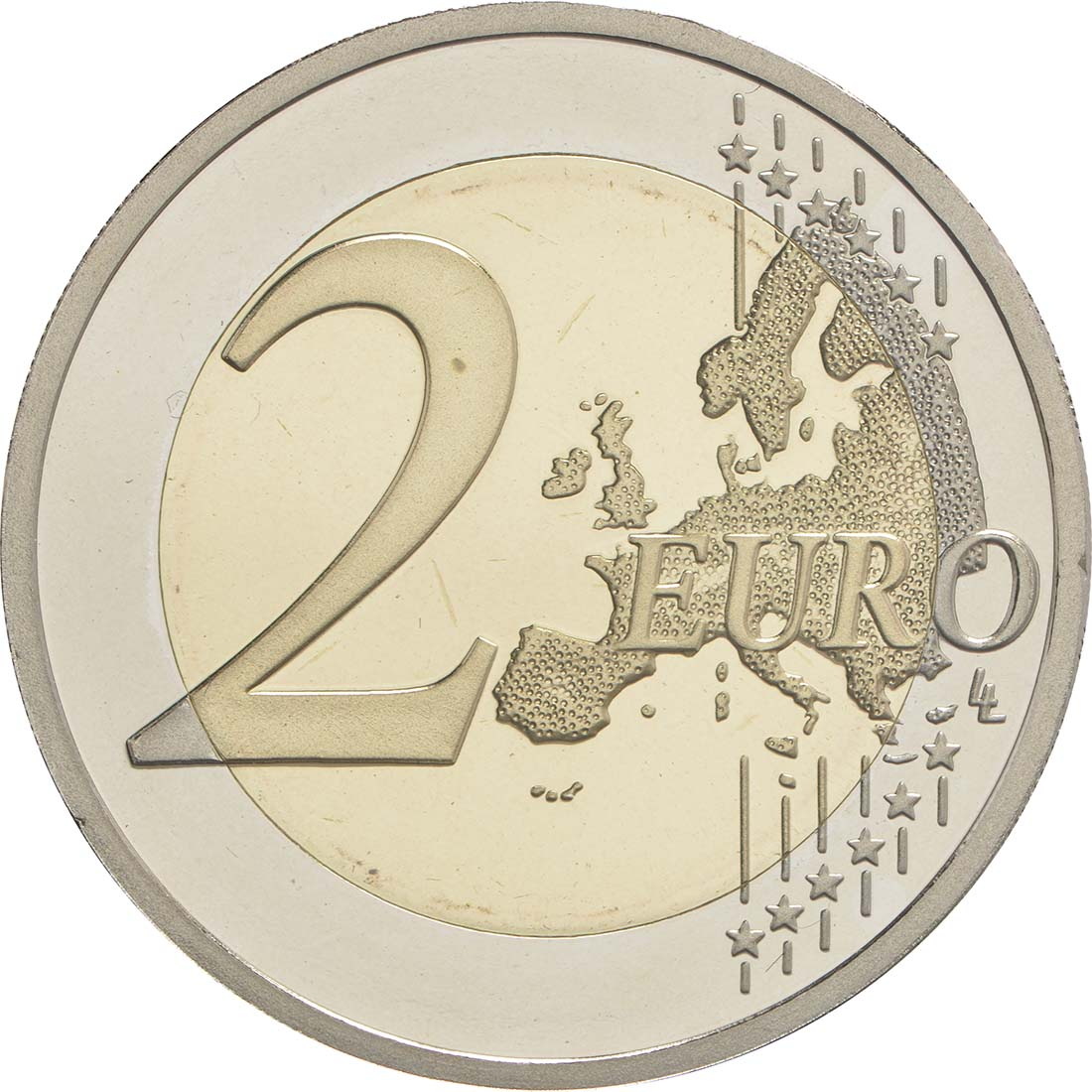 Vorderseite :Griechenland : 2 Euro 120. Geburtstag von Dimitri Mitropoulos  2016 PP