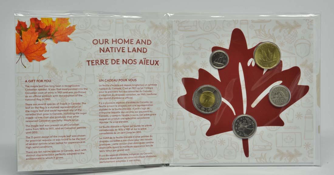 Lieferumfang:Kanada : 3,4 Dollar O Canada KMS  2017 Stgl.