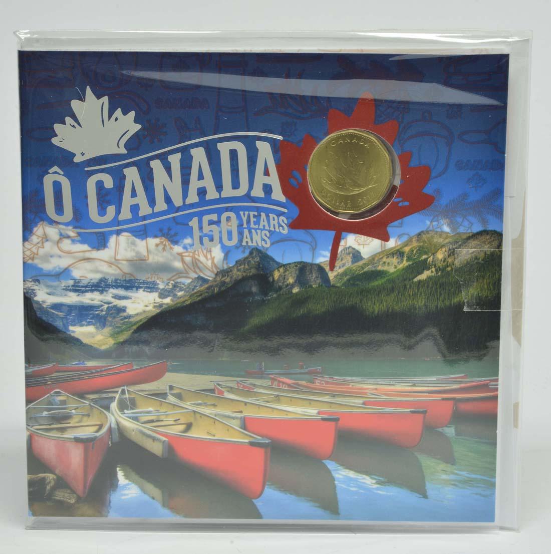Vorderseite:Kanada : 3,4 Dollar O Canada KMS  2017 Stgl.