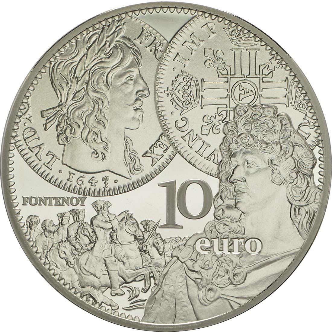 Vorderseite:Frankreich : 10 Euro Louis d'or  2017 PP