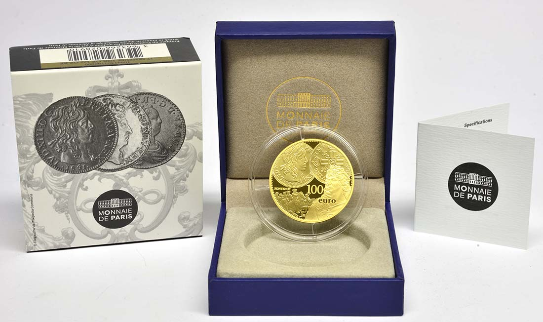 Lieferumfang:Frankreich : 100 Euro Louis d'or  2017 PP