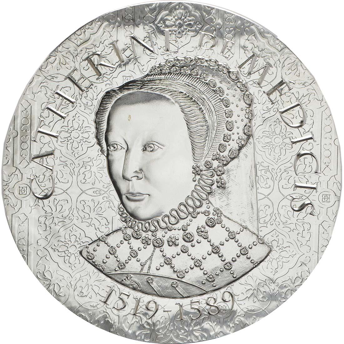 Vorderseite :Frankreich : 10 Euro Katharina von Medici  2017 PP