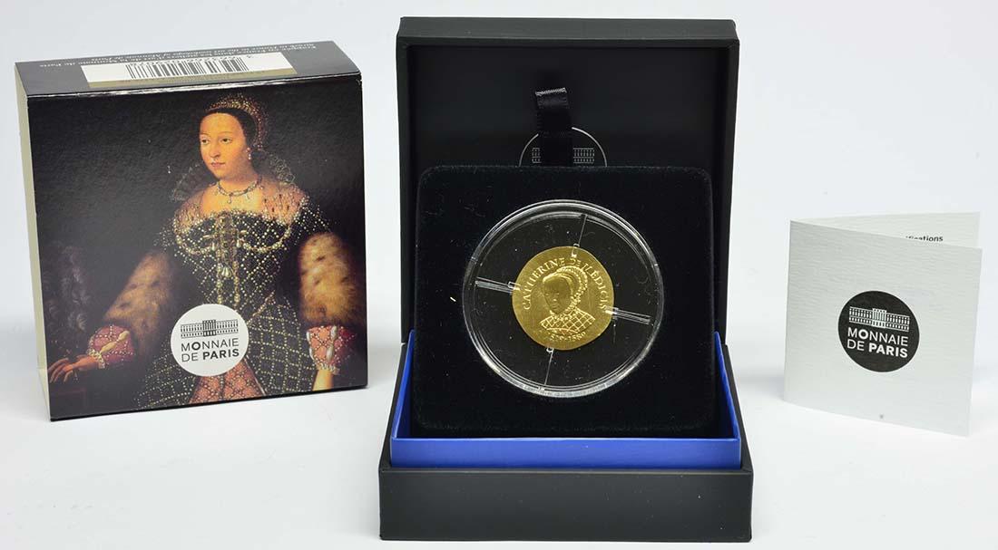 Frankreich : 50 Euro Katharina von Medici  2017 PP