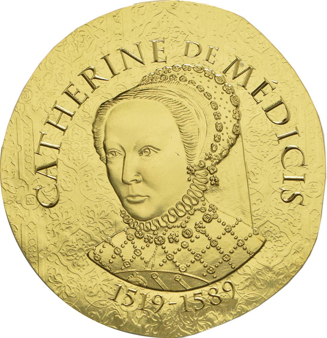 Vorderseite :Frankreich : 50 Euro Katharina von Medici  2017 PP