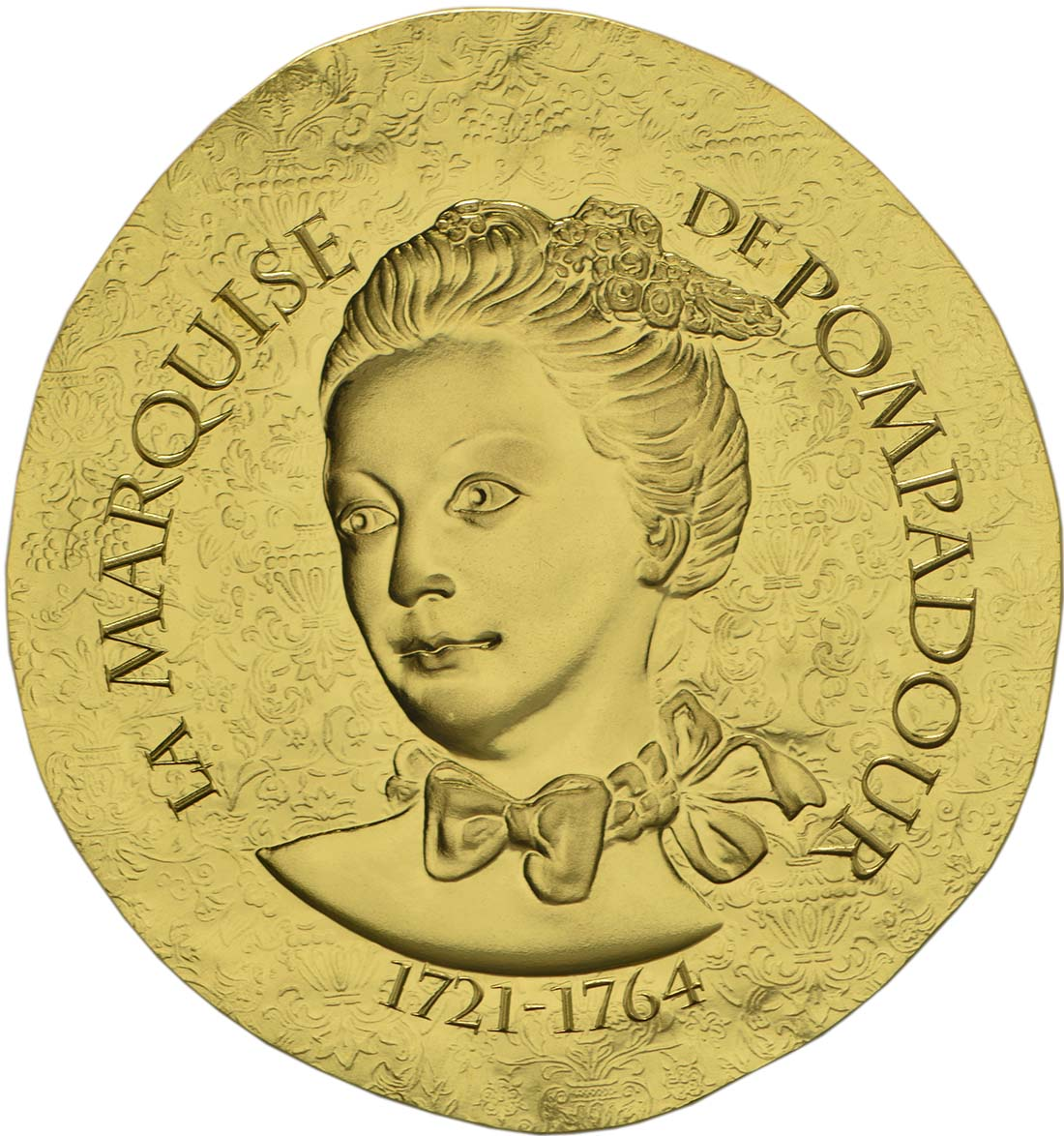 Vorderseite :Frankreich : 50 Euro Marquise de Pompadour  2017 PP