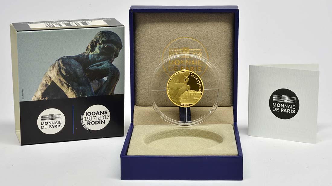 Frankreich : 50 Euro Auguste Rodin  2017 PP