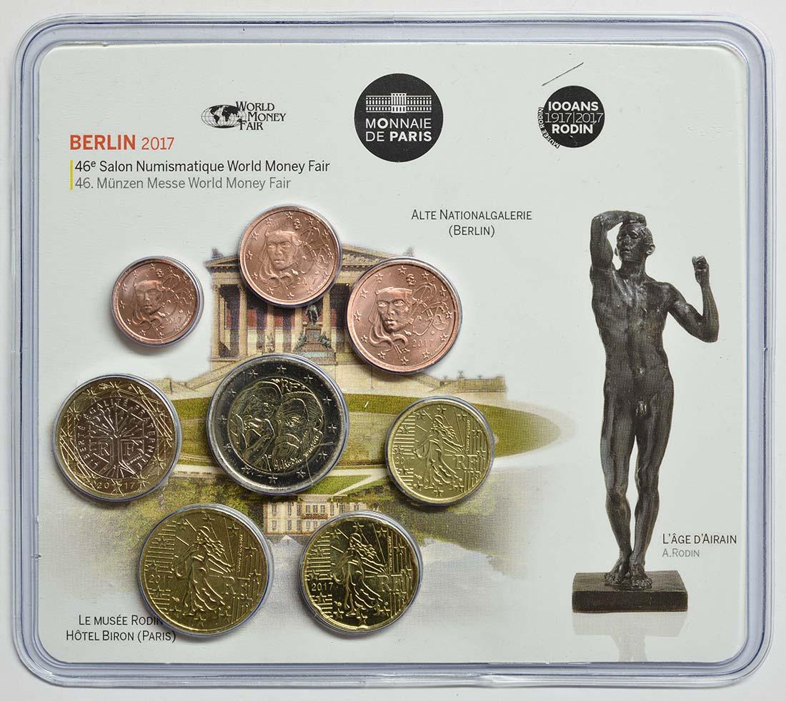 Frankreich : 3,88 Euro Mini KMS WMF Berlin 2017  2017 Stgl.