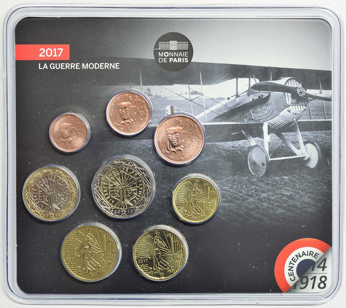 Frankreich : 3,88 Euro Mini KMS Erster Weltkrieg  2017 Stgl.