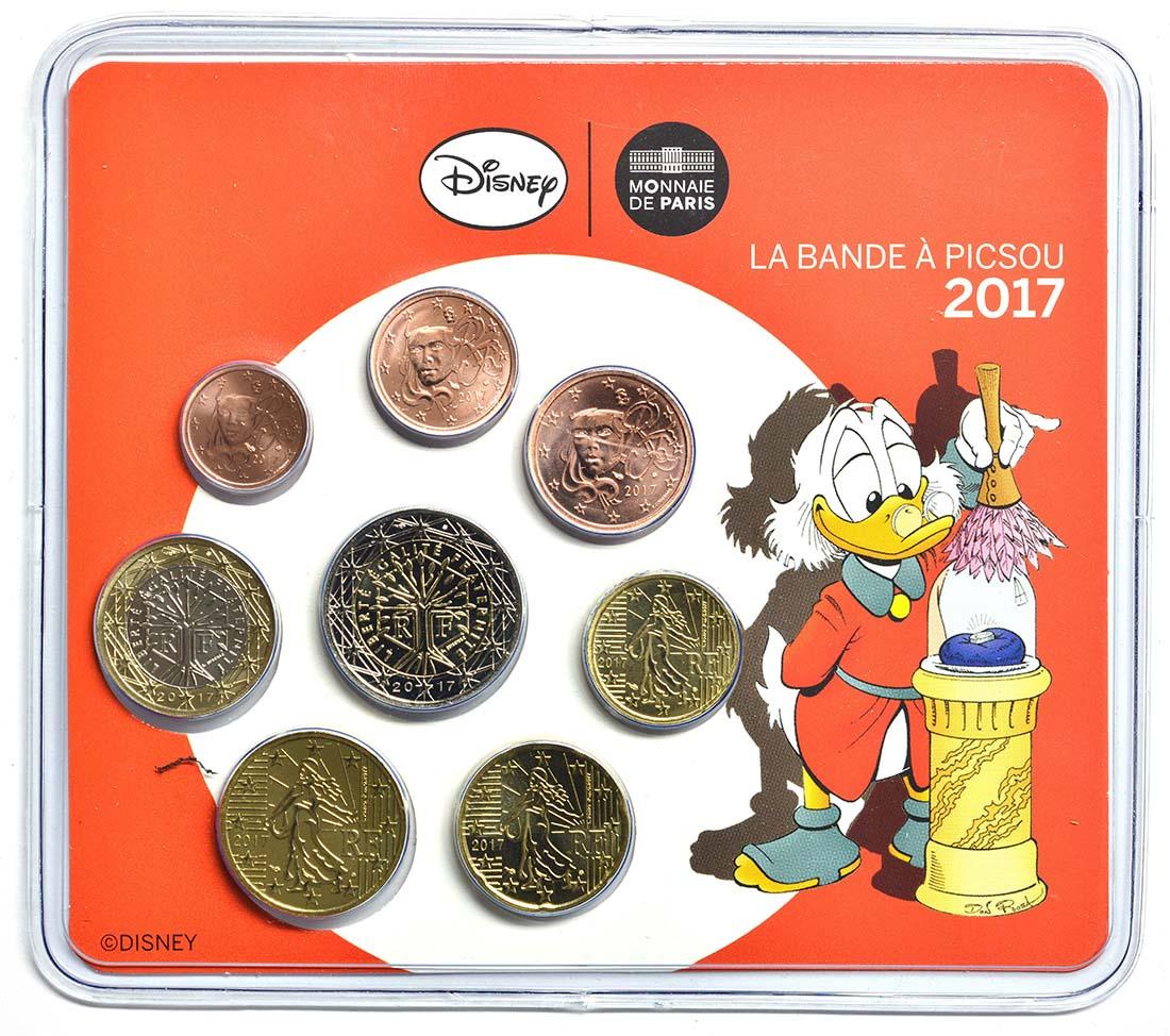 Frankreich : 3,88 Euro Mini KMS Scrooge McDuc  2017 Stgl.