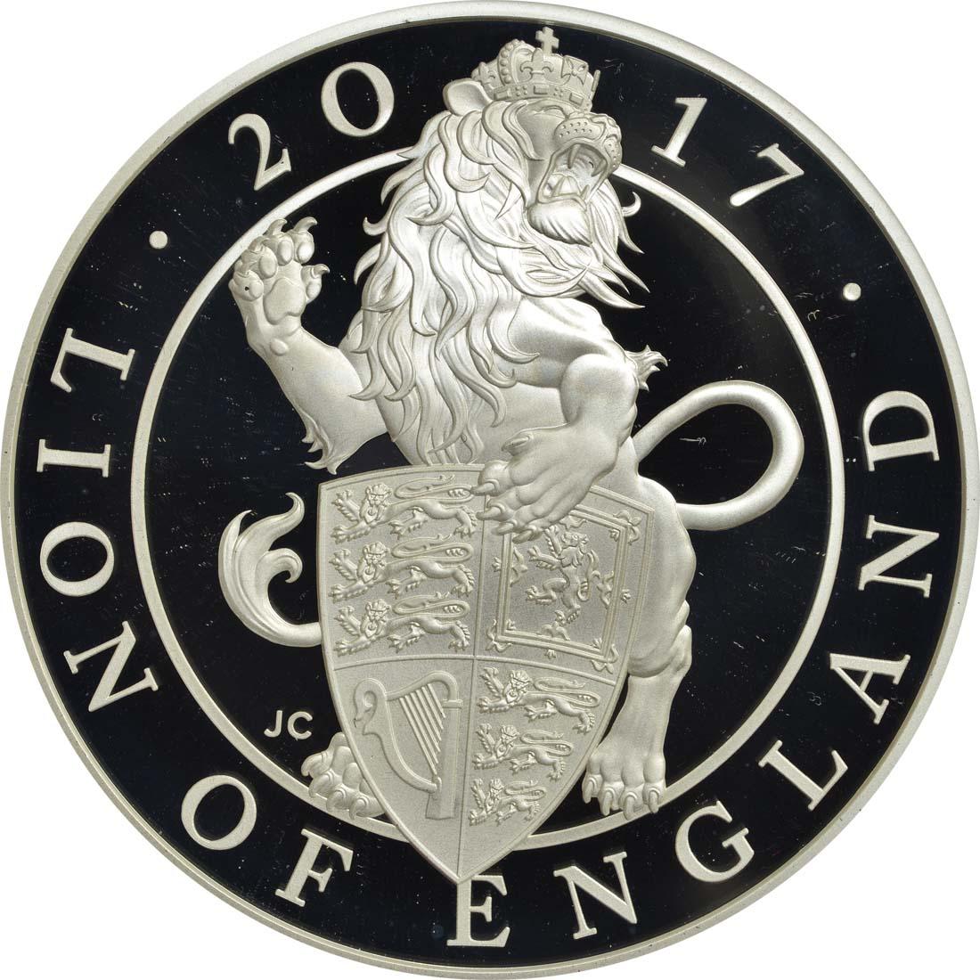 Vorderseite :Großbritannien : 10 Pfund Queen