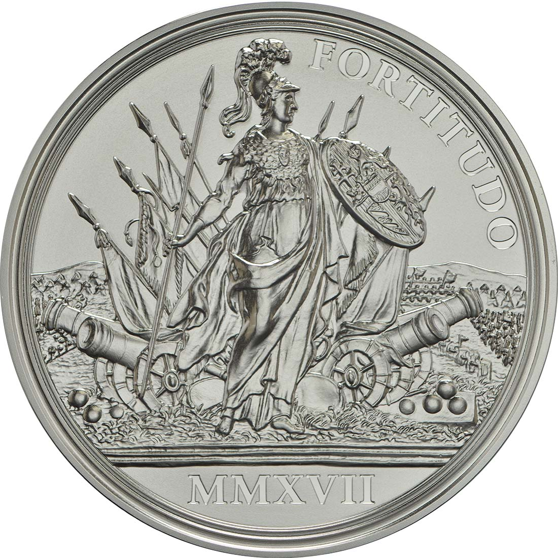 Rückseite :Österreich : 20 Euro Tapferkeit und Entschlossenheit  2017 PP