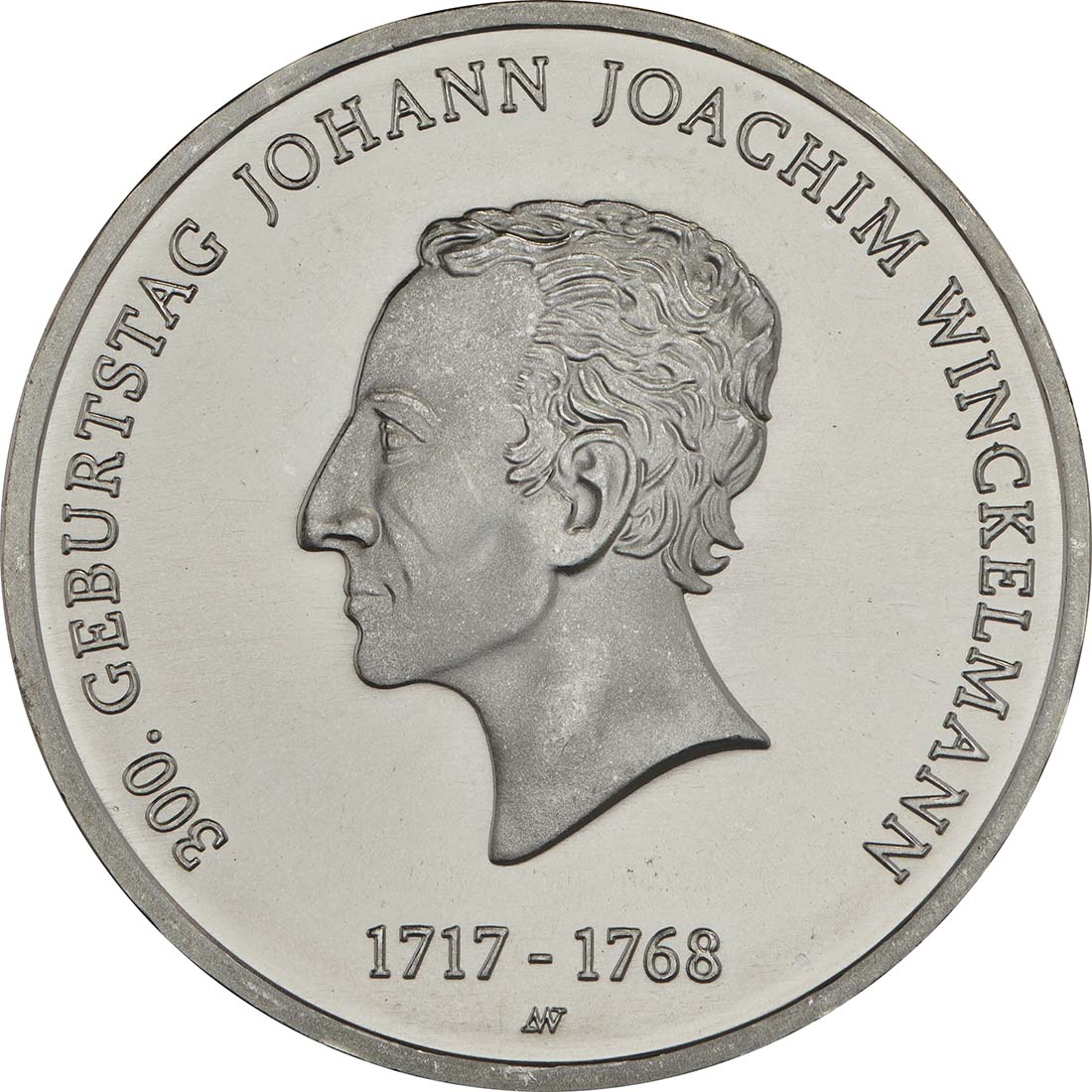 Vorderseite :Deutschland : 20 Euro 300. Geburtstag Johann Joachim Winckelmann  2017 bfr