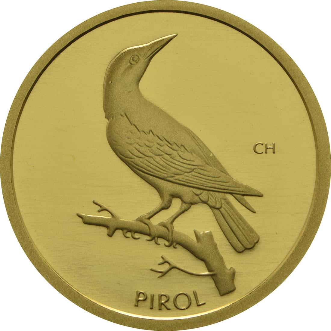 Vorderseite:Deutschland : 20 Euro Pirol  2017 Stgl.