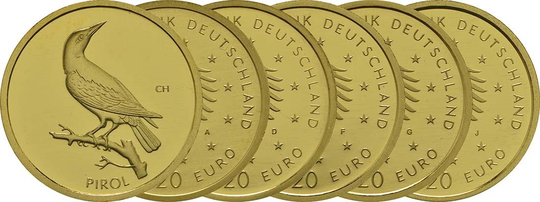20 Euro Pirol 2017