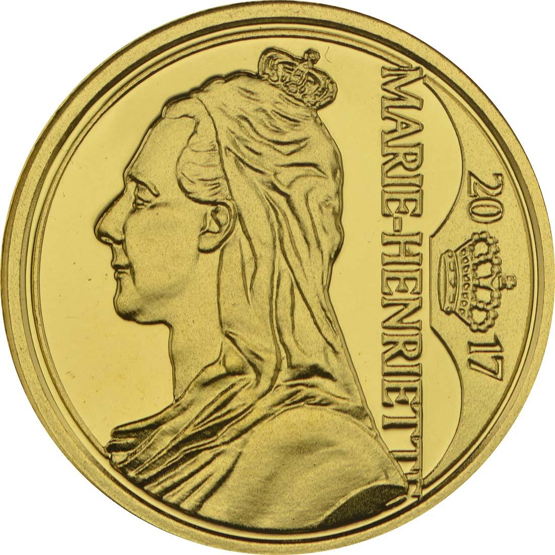 Vorderseite :Belgien : 12,5 Euro Königin Marie - Hendrika  2017 Stgl.