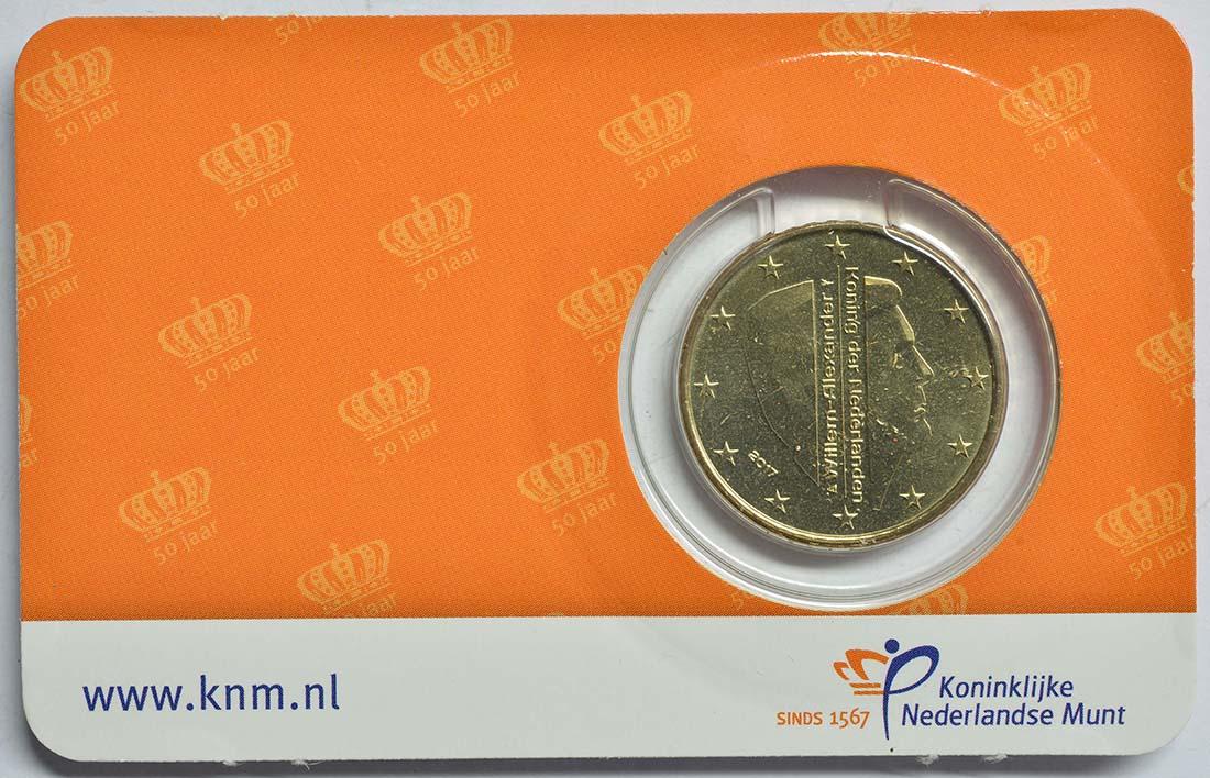 Niederlande 50 Cent 50 Geburtstag Von König Willem Alexander 2017 Stgl