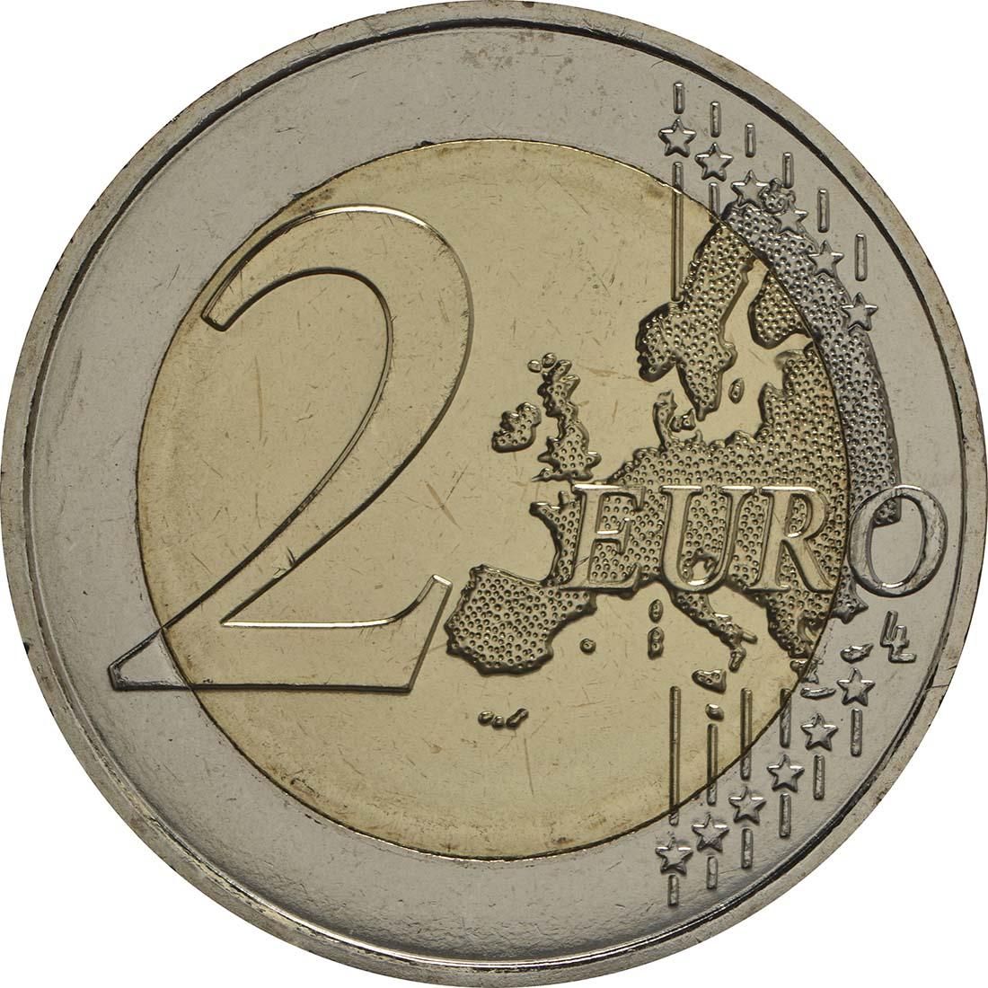 Vorderseite:Malta : 2 Euro Hagar Qim  2017 bfr
