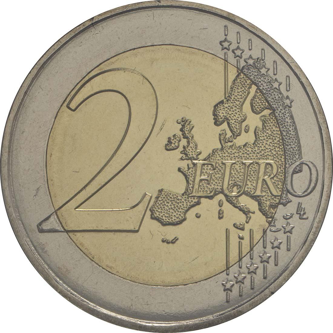 Vorderseite:Malta : 2 Euro Hagar Qim  2017 Stgl.