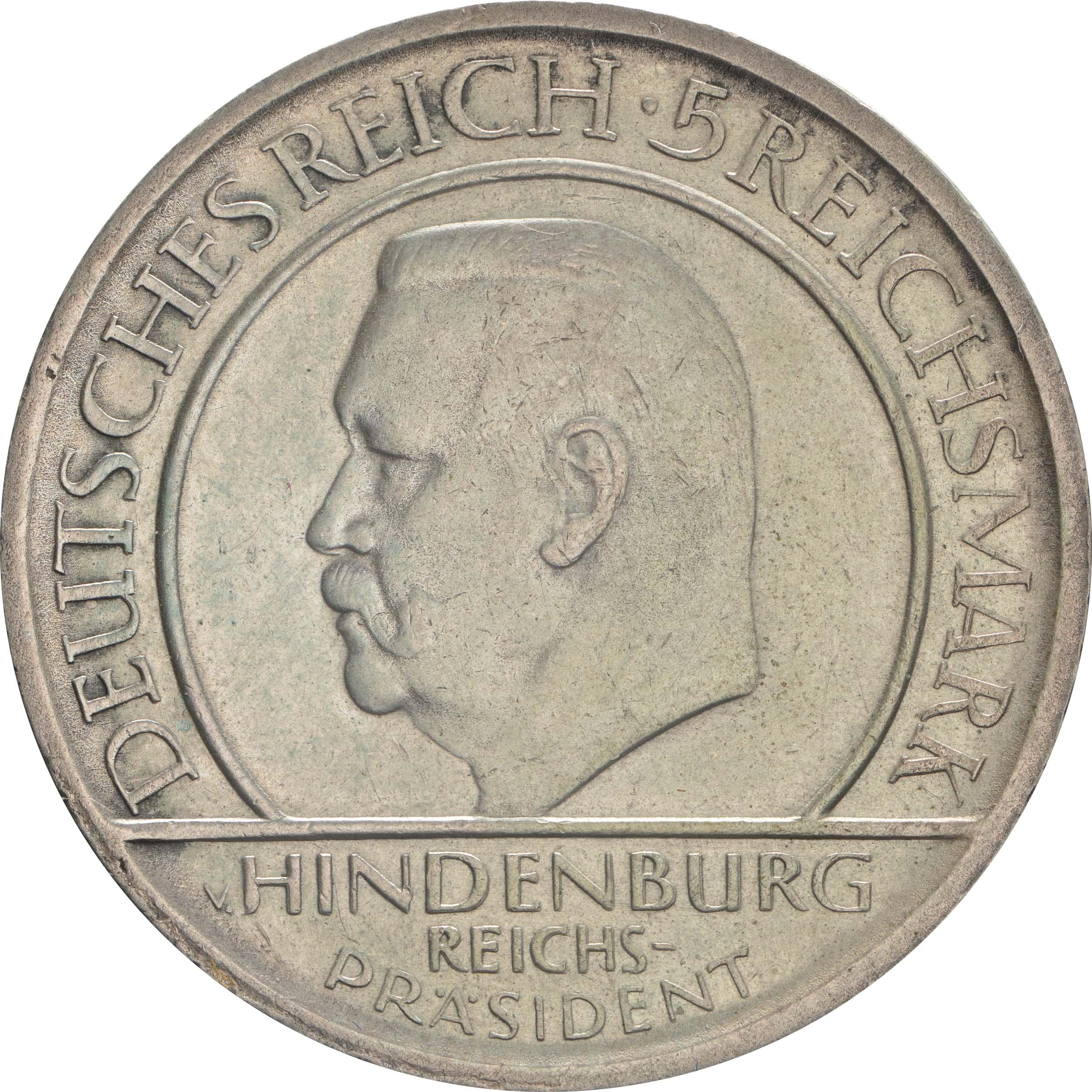 deutschland 5 reichsmark verfassung 1929 a silber vz 136 euro. Black Bedroom Furniture Sets. Home Design Ideas