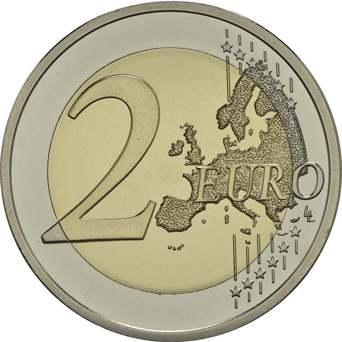 Vorderseite :Finnland : 2 Euro 100. Jahrestag der Unabhängigkeit Finnlands  2017 PP