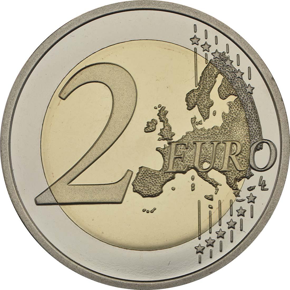 Vorderseite :Finnland : 2 Euro Finnische Natur  2017 PP