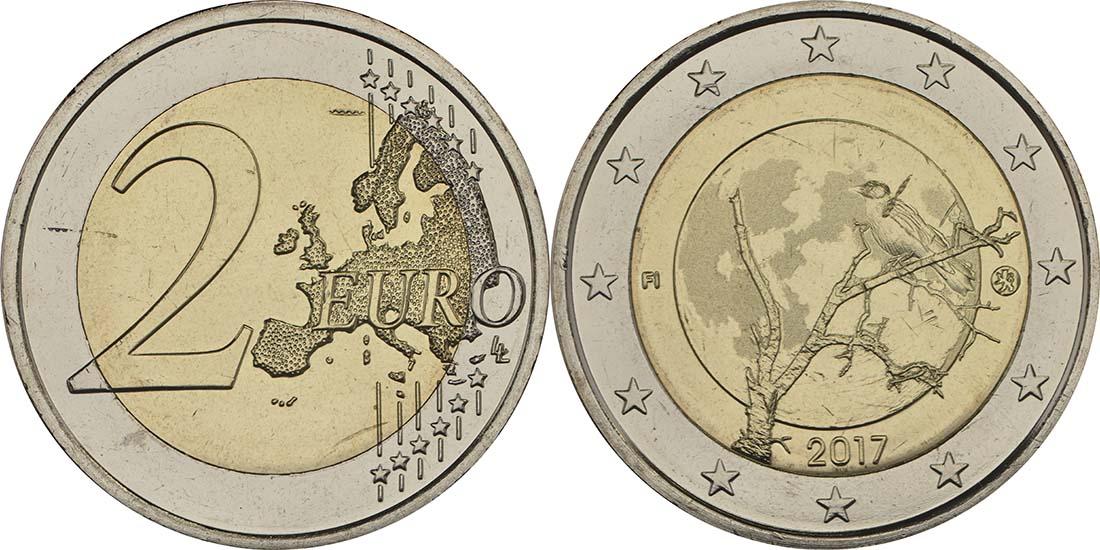Finnland : 2 Euro Finnische Natur  2017 bfr