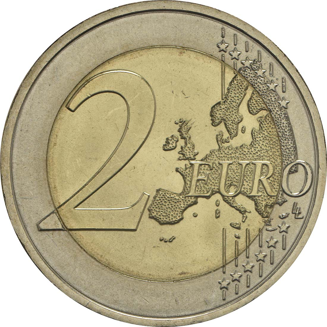 Vorderseite :Portugal : 2 Euro 150 Jahre Raul Brandao  2017 bfr