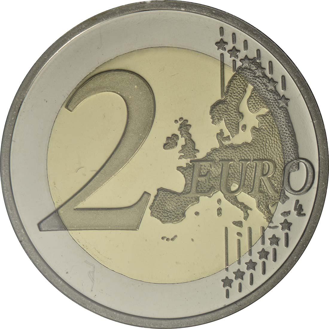 Vorderseite:Portugal : 2 Euro 150 Jahre Raul Brandao  2017 PP