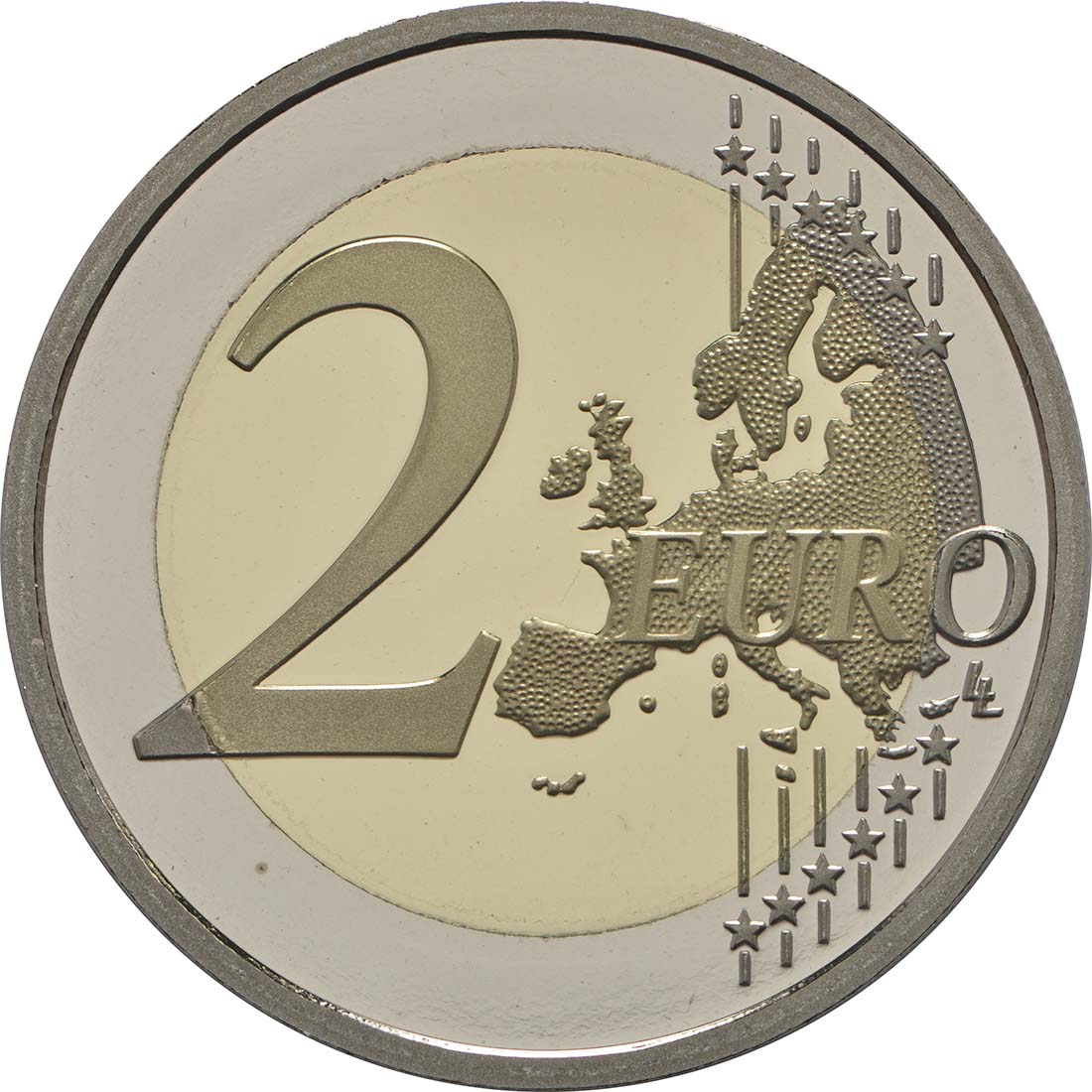 Vorderseite:Monaco : 2 Euro 200 Jahre Fürstliche Karabinierskompanie  2017 PP