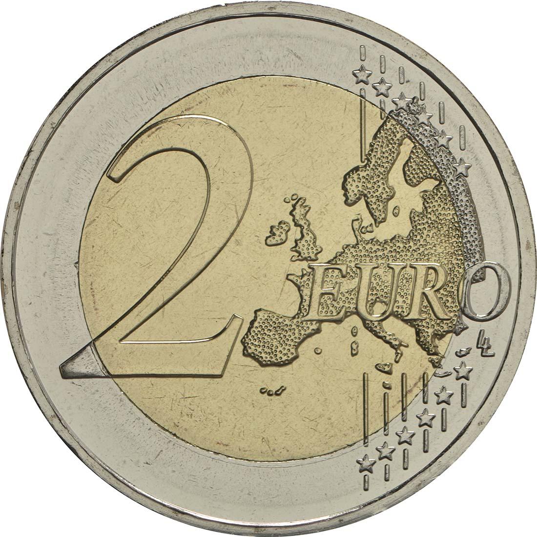Vorderseite:Griechenland : 2 Euro 60. Todestag von Nikos Kazantzakis  2017 bfr