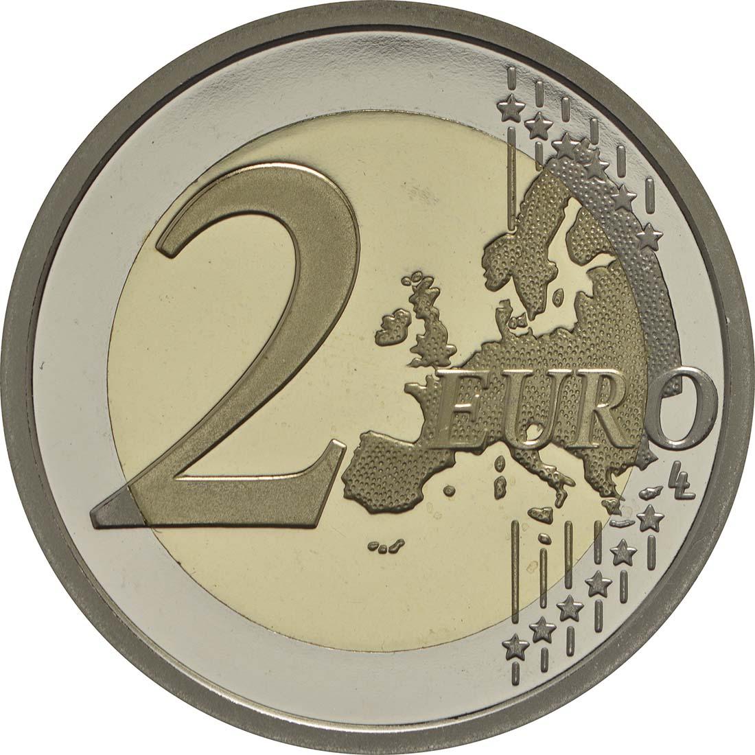 Vorderseite :Italien : 2 Euro 2000. Todestag von Titus Livius  2017 PP