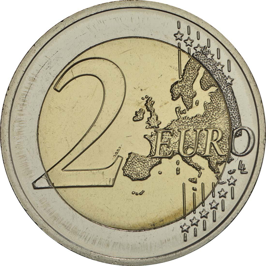 Vorderseite:Lettland : 2 Euro Kurzeme  2017 bfr